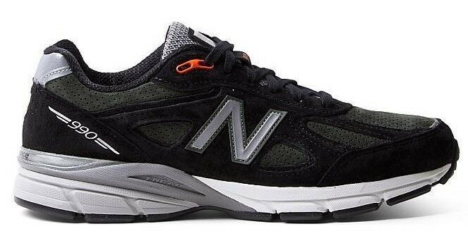 100% AUTHENTIC LIMTD. ED. NEW BALANCE M990MB4 BLK GRN. MADE IN USA  NEW IN BOX.