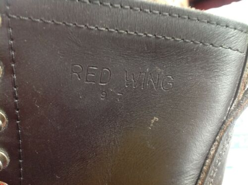 VINTAGE,MADE IN 1960'S RED WING LOGGER/LINEMAN,MIN