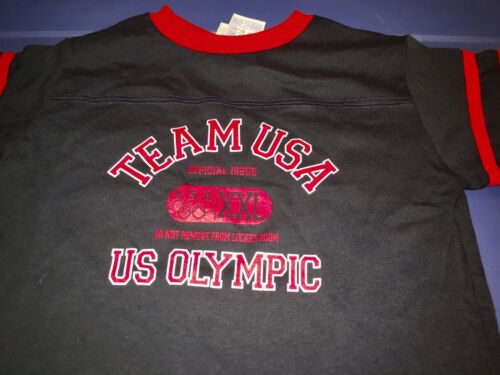 Team USA Olympic Games XXL ringer t-shirts todler size 6T vintage New NWOT