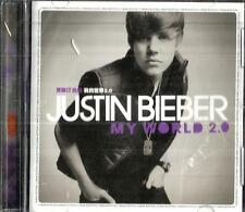 Justin Bieber ,China edition cd album (still sealed)-My World 2.0