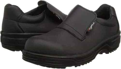 Cofra Itaca Unisex Slip-On Safety Shoes Steel Toe Cap S2 Washable Footwear Black