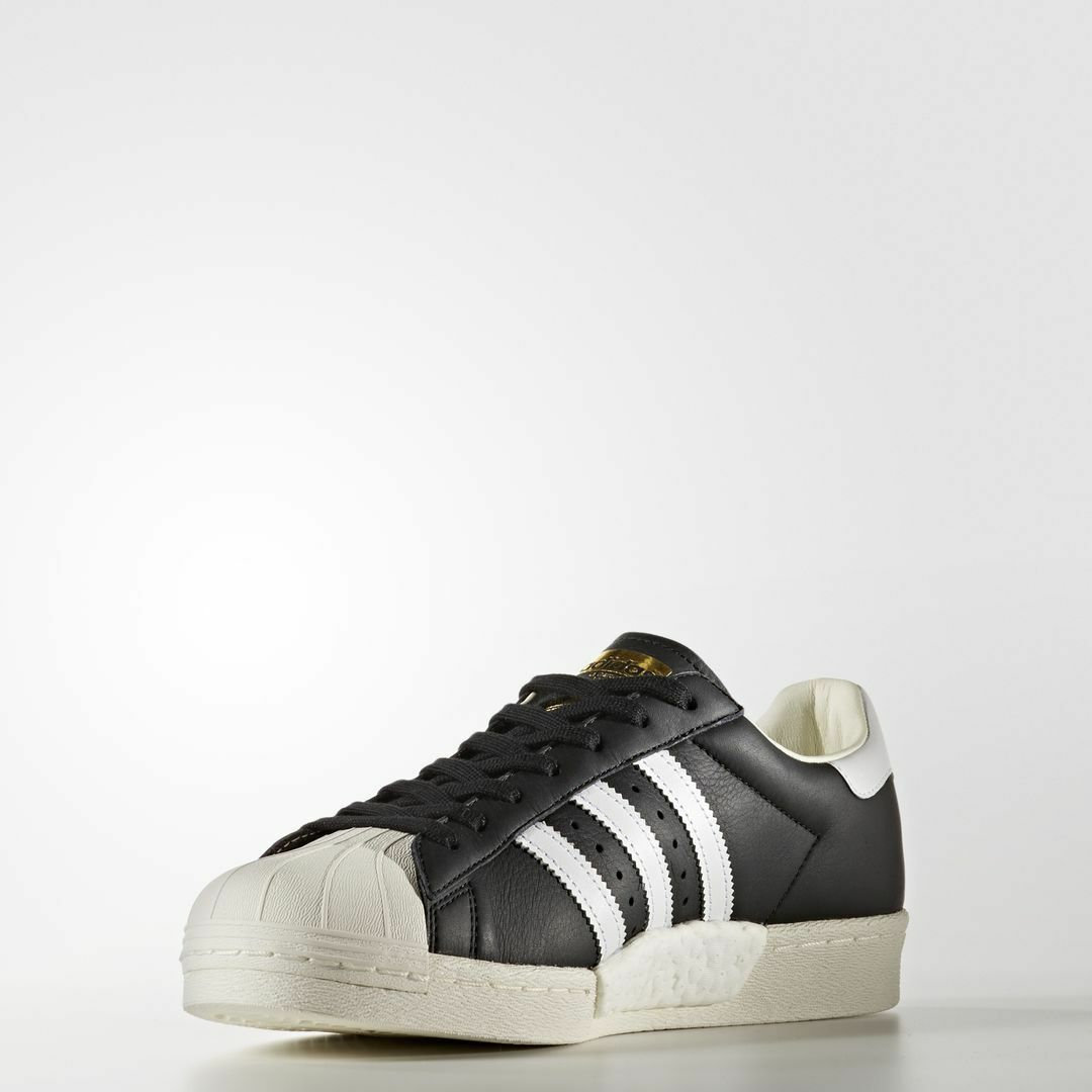 Adidas Superstar Boost Core Black   BB0189   Men's AD Ftw White gold Metallic