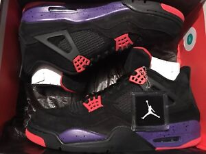 40c03895f8b6b6 Air Jordan 4 Retro NRG Raptor Court Purple AQ3816-065 Size 13 New DS ...