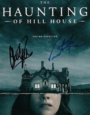 Oliver Jackson Cohen Victoria Pedretti The Haunting Hill House Signed 8x10 Coa 2 Ebay