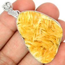 Vanadinite Crystal 925 Sterling Silver Pendant Jewelry VDCP26