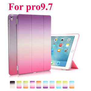 For-Apple-iPad-Pro-9-7-inch-Slim-PU-Smart-Rainbow-Shockproof-Stand-Cover-Case-MN