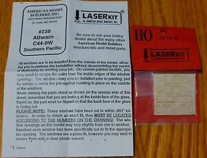 American-Model-Builders-HO-238-Windows-for-Athearn-C44-9W-Southern-Pacific