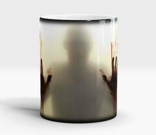 15x The Walking Dead Heat Changing Ceramic Cup Coffee Tea Novelty Job Lot