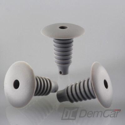 10x Carénage Clips Fixation Colliers Support Vis Gris Pour BMW 60 C