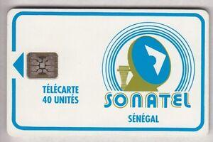 AFRIQUE TELECARTE - PHONECARD .. SENEGAL 40U SC5AN S-T V° LOGO2 C31141010 PUCE tsPmN4q1-09164327-482489594