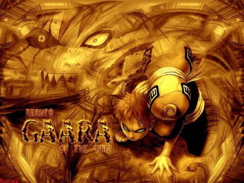 "090 Naruto Gaara NINJA Fighting Hot Japan Anime 32/""x24/"" Poster"