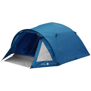 Highlander-Juniper-4-Personas-Cupula-Tienda-Familia-Camping-Festivales-Azul