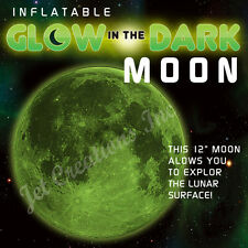Inflatable Glow in the Dark Moon 6 packs