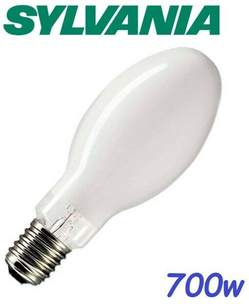 Sylvania HSL-BW 700w Metal Halide GES E40 Edison Tornillo 4000K blancoo frío 40000 LM