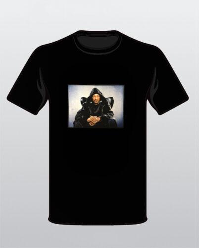 SNOOP DOGG Black Mens T-Shirt Rapper New Tee Lion Hip Hop Legends