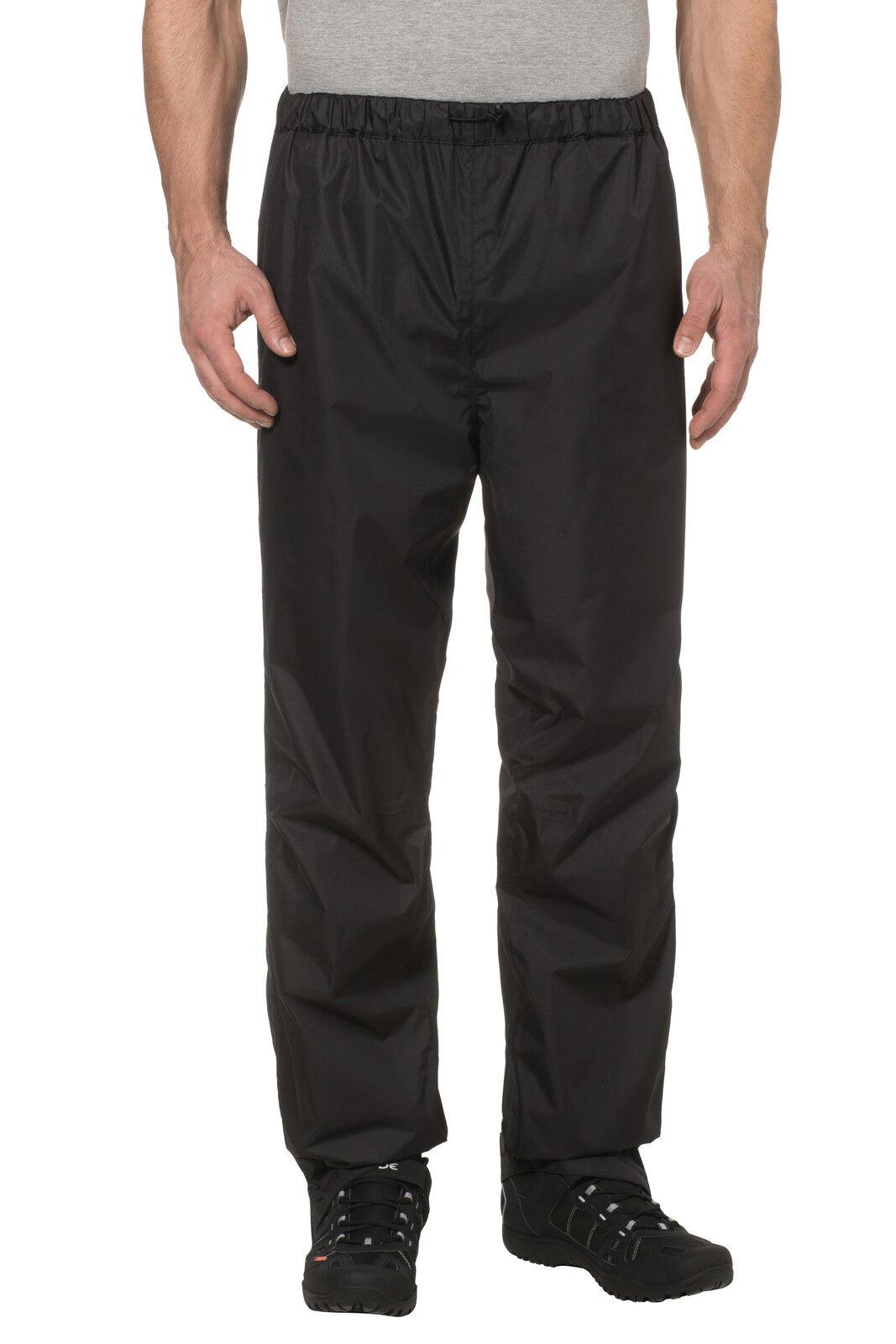 Vaude FLUIDO Pants Vento misurata II e impermeabile traspirante Sovrapantaloni prezzo consigliato £80