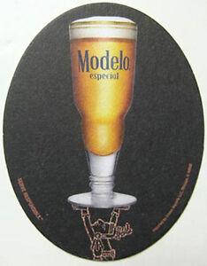 MODELO-ESPECIAL-Cerveza-Beer-COASTER-Mat-MEXICO
