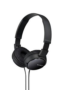 Sony-MDRZX110-BLK-Stereo-On-Ear-Headphones-Black-Brand-New-Free-Shipping