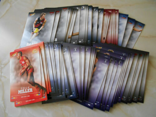 2016 Select Footy Stars Common cards x about 136 doubles, about 80 different