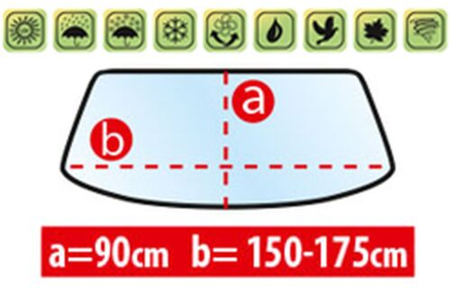 5140mm Mixto 10.14 Frontscheibenabdeckung für Mercedes Vito 3 W447 Länge