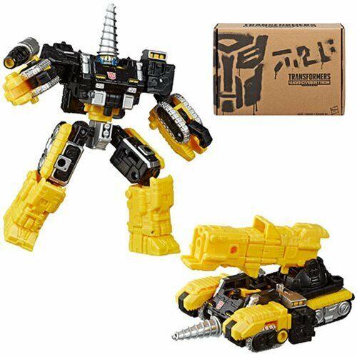 Powerdasher Perceuse Zetar Transformers Générations guerre Cybertron Deluxe WFC-GS08