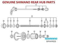 SHIMANO CASSETTE HUB CONE,AXLE,SEAL,SKEWER for 8/9/10 SPEED REAR HUBS