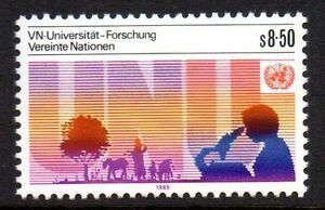 """UN Vienna - 1985 10 years UN university Mi. 48 MNH - Enschede, Nederland - UN Vienna - 1985 10 years UN university Mi. 48 MNH Click the button below to view more UN lots from our extensive offerings. After clicking select """"UN"""" in the blue side-bar on the left. Our lots start at just €0,25 Combine up to 10 - Enschede, Nederland"""
