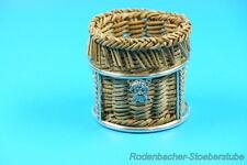 Zahnstocher Körbchen mit 800er Silber Montur (G803)