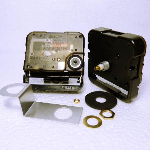 Replacement Seiko SKP Eyeshaft Quartz Clock Movement Total Shaft Length 13mm