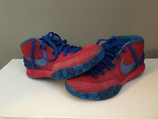 6e6df52c59 Nike ID Kyrie 1 Basketball Shoes Size 10 Red Blue
