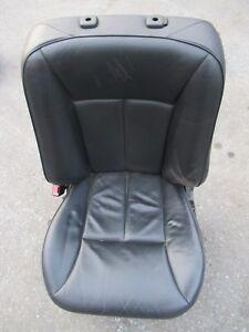 Mercedes-W210-S210-E-Klasse-Fahrersitz-Leder-Schwarz-Sitz-Links-VL