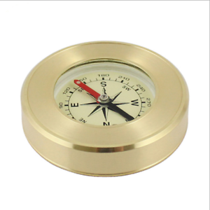Pocket Brass Watch Style Military Army Compass Outdoor Camping Hiking