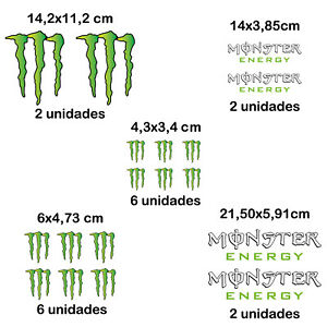 18X-PACK-PEGATINA-MONSTER-ENERGY-VINILO-STICKER-DECAL-AUTOCOLLANT-GARRA