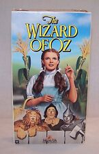 The Wizard of Oz VHS Tape Judy Garland Dorothy & Toto / Tin Man / Scarecrow