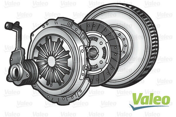 845151 VALEO Kit d'embrayage pour RENAULT LAGUNA II (BG0/1_)