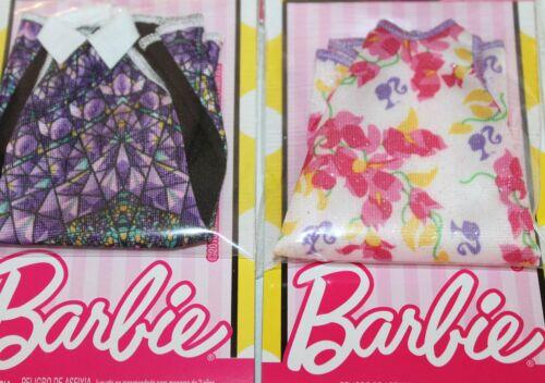 Genuine Mattel Barbie Doll Clothes Valentine/'s Day Hearts Dress Necklace Purse