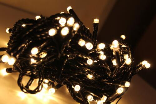 MAINS Powered LED Indoor OUTDOOR CHRISTMAS Tree Lights Xmas String Fairy UK Plug