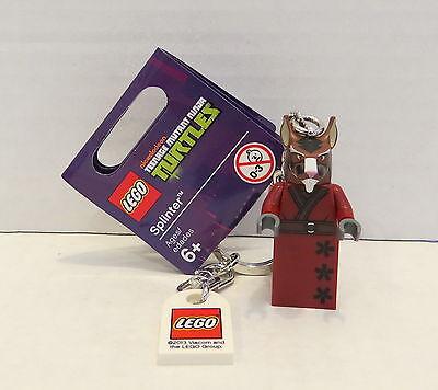 LEGO® Teenage Mutant Ninja Turtles™ SPLINTER KEYCHAIN Minifigure NEW 850838