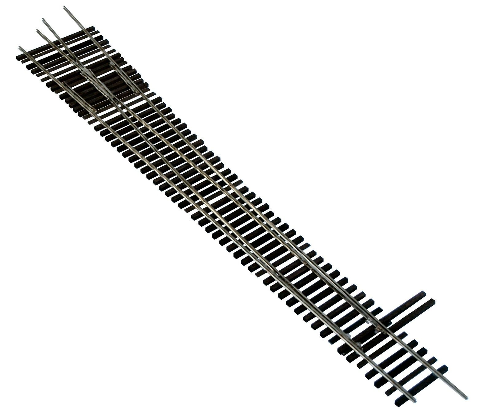 Oscale Turnouts, Inc. Right Hand Turnout,  2-Rail, Code 125, Mounted on Ties