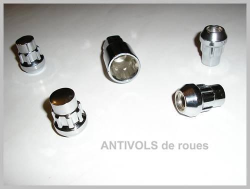 ECROUS ANTIVOL DE ROUE ROVER 25 200 400  12x150