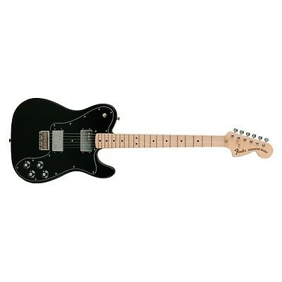 Fender Classic Series '72 Telecaster Tele Deluxe Maple Fretboard Black DEMO