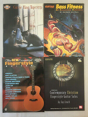 Carole King Tapestry Sheet Music Finger Style Guitar NEW 000699190