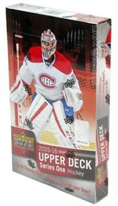 85-GONE-15-16-Upper-Deck-Hockey-SERIES-1-BOX-BREAK-Random-Teams-Free-Shipping