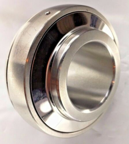 """Premium SUC206-20Acier Inoxydable Insert Bearing UC206-20 1-1//4/"""" Bore Re-Lube"""