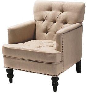 Beige Modern Club Chair Accent Chair Arm Chairs Armchair Living Room Furnitur