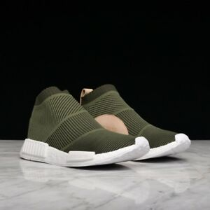 5303f35a0 Adidas Originals Nmd CS1 Pk Primeknit Boost Night Cargo Tan Leather ...