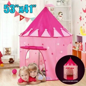 Toys-For-Girls-Kids-Children-Play-Tent-House-Collapsible-Playhouse-Indoor-Castle