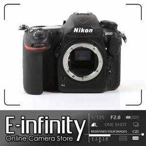 NEUF-Nikon-D500-Digital-SLR-Camera-20-9MP-DX-Format-Body-Kit-Box