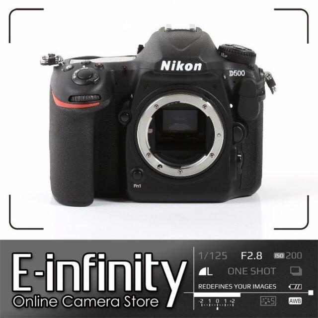NEUF Nikon D500 Digital SLR Camera 20.9MP DX-Format  Body (Kit Box)