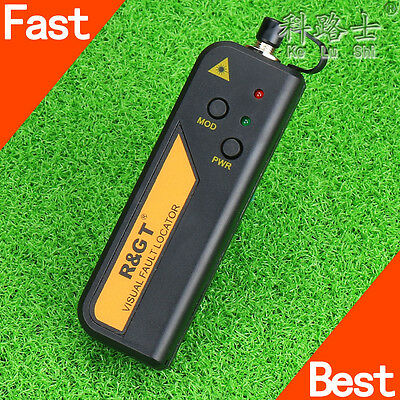 30mW 18-25km Red Light Visual Fault Locator Fiber Optic Cable Tester Meter FTTH